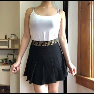 Dresses & Skirts - Skater skirt with band at waist